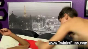 Shona James is gently sucking an elderly man's rock hard meat stick, on the sofa