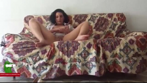 Busty girl was tied up and horny, so now she is fucking her naughty neighbor like crazy