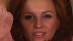 Red haired woman took a big dick inside her tight ass, until she came